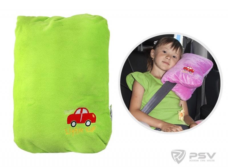 Подушка в машину ребенку своими руками 11